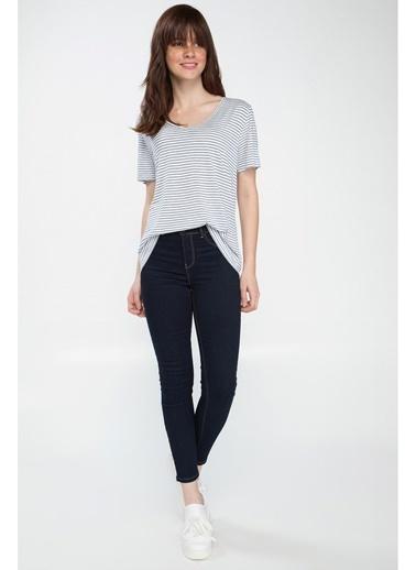 DeFacto Anna Yüksek Bel Super Skinny Fit Denim Pantolon Renkli